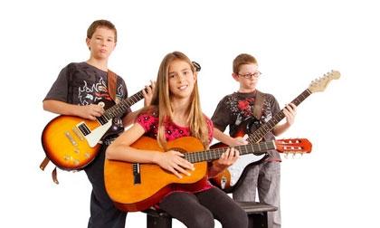 Уроки игры на гитаре для детей