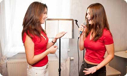 Постановка вокала